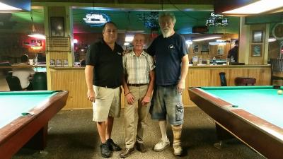 Wed. Player's Tournament:  Doug Eddy, 3d; Winner, Bill Serey; John Monaghan 2d